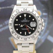 Rolex Explorer II Сталь 40mm Чёрный Без цифр