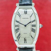 Cartier Tonneau Platinum 46mm Silver Roman numerals United States of America, Massachusetts, Boston