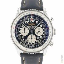 Breitling Navitimer Cosmonaute Acier 42mm Noir Arabes