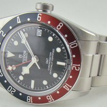Tudor Black Bay GMT Steel 41mm Black No numerals United States of America, Illinois, Lincolnshire