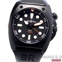 Bell & Ross BR 02 Steel 44mm Black No numerals