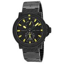 Ulysse Nardin Diver Black Sea new Automatic Watch with original box 263923C924