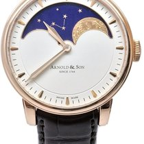 Arnold & Son HM Perpetual Moon Rose gold 42mm White No numerals United States of America, Florida, Naples