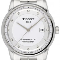 Tissot Luxury Automatic Acier 41mm Blanc