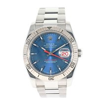 Rolex Datejust Turn-O-Graph Staal 36mm Blauw