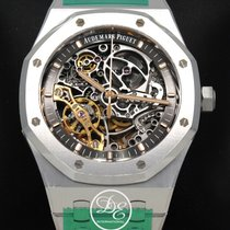 Audemars Piguet Royal Oak Double Balance Wheel Openworked Сталь 41mm Прозрачный