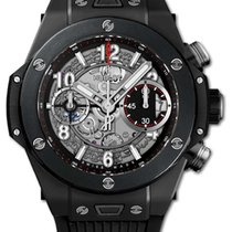 Hublot Big Bang Unico Cerámica 42mm Transparente Arábigos