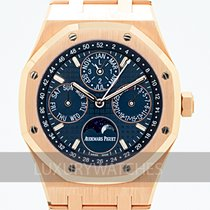 Audemars Piguet Royal Oak Perpetual Calendar Rose gold 41mm Blue