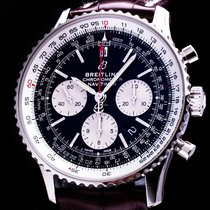 Breitling Navitimer 1 B01 Chronograph 43 pre-owned 43mm Chronograph Date Leather