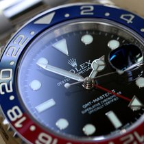 Rolex Oyster Perpetual GMT-Master II  PEPSI white gold full set