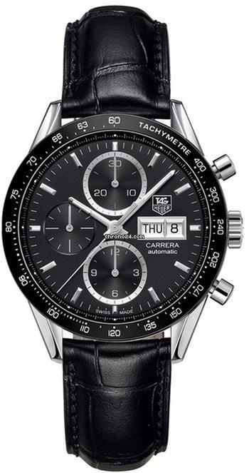 Tag Carrera Watch >> Tag Heuer Carrera Calibre 16 Automatic Chronograph 41 Mm Cv201ag Fc6266