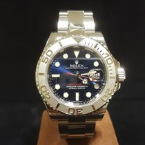 Rolex Yacht-Master 40mm Steel & Platinum Blue Dial