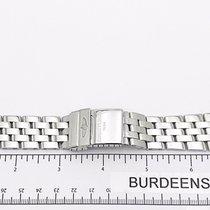 Breitling Stainless Steel Polished Pilot Bracelet 24mm 383a...