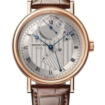 Breguet 41mm Automatic pre-owned Classique Silver