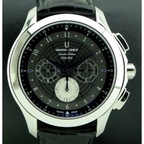 Universal Genève Compax new Manual winding Watch with original box 884.122/0375.CA