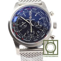 Breitling Transocean Unitime Pilot new 2019 Automatic Chronograph Watch with original box and original papers AB0510U6/BC26