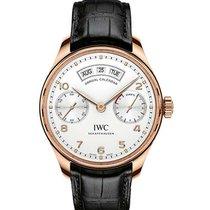 IWC iw503504 Portugieser Annual Calendar Mens 44.2mm Automatic...