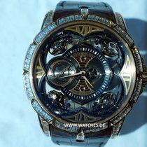 로저드뷔 (Roger Dubuis) Quator Excalibur Rose Gold & Diamonds Four...