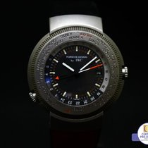 IWC Porsche Design Reiseuhr World Time Alarm 3821 Papers Box