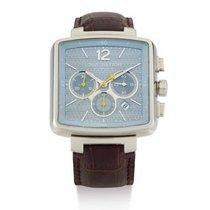 Louis Vuitton | A stainless Steel Rectangular Automatic...