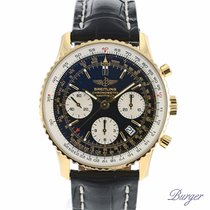 Breitling Navitimer Yellow gold 41.4mm Black No numerals