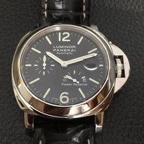 Panerai Luminor Power Reserve Aço 44mm Preto Árabes Portugal, Lisboa