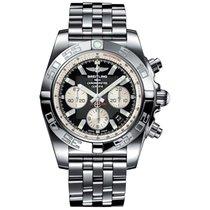 Breitling Chronomat 44 nuevo Automático Reloj con estuche y documentos originales AB011012/B967/375A