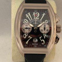 Franck Muller Conquistador Chronograph White Gold