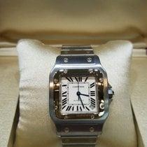 Cartier Santos Galbée neu 2017 Automatik Uhr mit Original-Box und Original-Papieren W20099C4