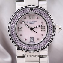 Chaumet 33mm Quartz pre-owned Class One Mother of pearl
