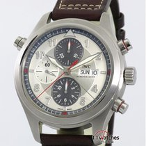萬國 Pilot Double Chronograph 鋼 44mm 銀色 臺灣, Taipei