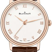 Blancpain Villeret Ultra-Slim Rose gold 30mm Silver Roman numerals United States of America, New York, New York