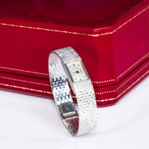 Cartier Oro blanco Cuerda manual usados