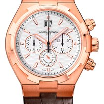 Vacheron Constantin Overseas Chronograph Rose gold 42mm White