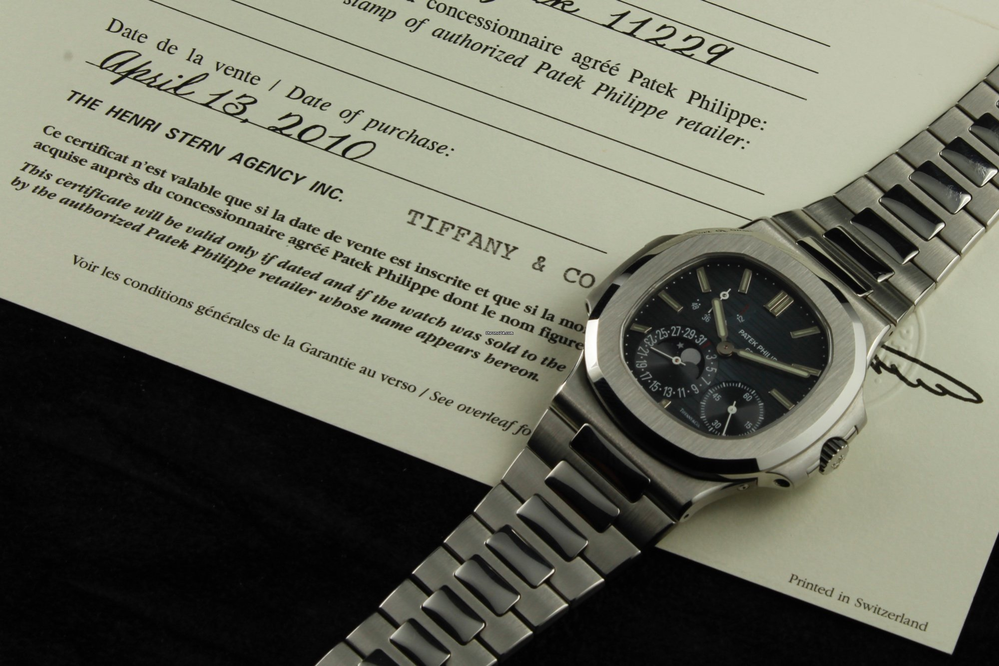 120135256ee Patek Philippe Nautilus Tiffany for Price on request for sale from a  Trusted Seller on Chrono24