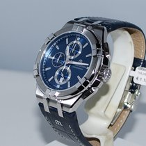Maurice Lacroix AIKON Staal 44mm Blauw Geen cijfers Nederland, Vught