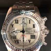 Breitling Chrono Galactic Steel Mother of pearl