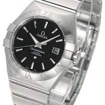Omega Constellation Ladies Steel 31mm Black