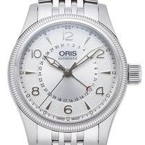 Oris Big Crown Pointer Date Steel 40mm Silver