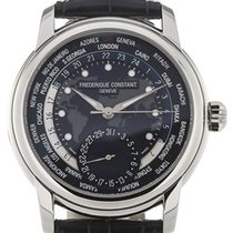 Frederique Constant Manufacture Worldtimer FC-718NWM4H6 Ny Stål 42mm Automatisk