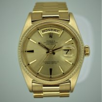 Rolex Day-Date 36 Or jaune 36mm Or Sans chiffres