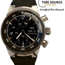 IWC Aquatimer Chronograph Steel 40mm Black United States of America, New York, Huntington Village