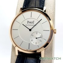 Piaget Altiplano pre-owned 43mm Crocodile skin