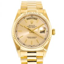 Rolex Day-Date 36 occasion 36mm Champagne Date Or jaune