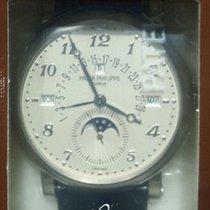 Patek Philippe Minute Repeater Perpetual Calendar Weißgold Weiß