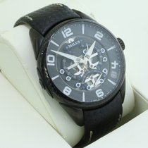 Milus Tirion Steel 45mm Black Arabic numerals