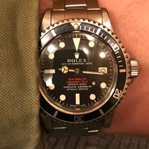 Rolex Sea-Dweller 1665 Double Red Mark II Tropical dial + Service