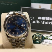 Rolex Cally - {2017 New} Datejust 41mm 126334 dark Blue Diamond