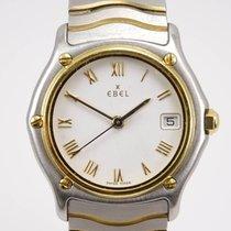 Ebel Sport Altın/Çelik Beyaz