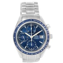 Omega Speedmaster Date Blue Dial Automatic Watch 3212.80.00...